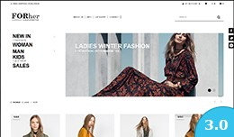 FOR her - Fashion Opencart Theme