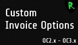 Custom Invoice Options