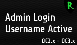 Admin Login Username Active