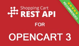 Opencart REST API - Shopping cart API for Openca..