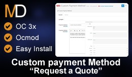 Custom Payment Method OC 3x - Request a Payment ..