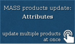 MASS products update: Attributes