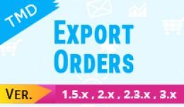 Export Orders (1.5.x , 2.x & 3.x)