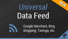 Universal Data Feed (Google Merchant,Bing shoppi..