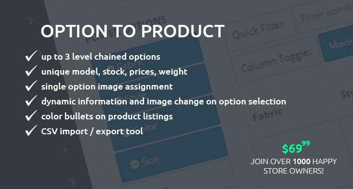 Option To Product