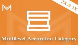 Multilevel Accordion Category Menu