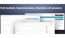 Poll module, Questionnaire, Statistics of answers