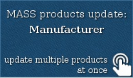 MASS products update: Manufacturer