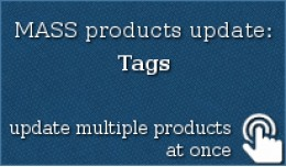MASS products update: Tags