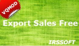Export Sales (vQmod) Free