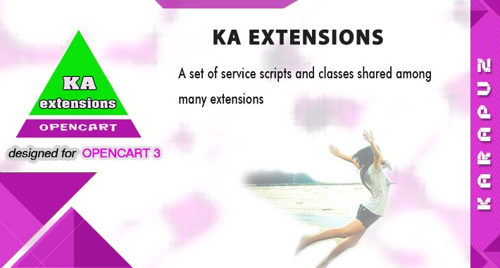 Ka Extensions library (for Opencart 3)