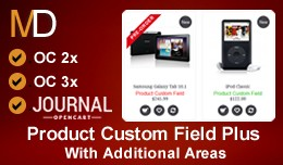 Product Custom Field Plus  - Journal Theme