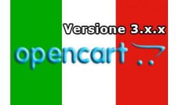 Traduzione Italiana Open Cart 3.x.x.x