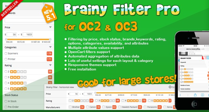 Brainy Filter Pro for OC2 & OC3