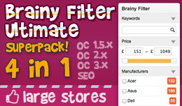 Brainy Filter Ultimate Superpack / OC1-3, SEO Pl..