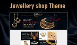 Responsive Clean Jewellery Shop Theme