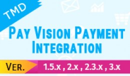 PayVision Payment Integration(1.5.x , 2.x & ..