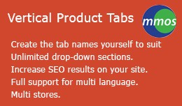 Vertical Product Tabs