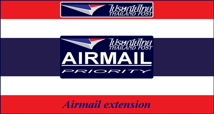 Thailand Post: Airmail for OC 3.x