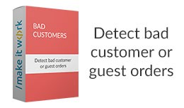 Bad customers - highlight bad customer or guest ..