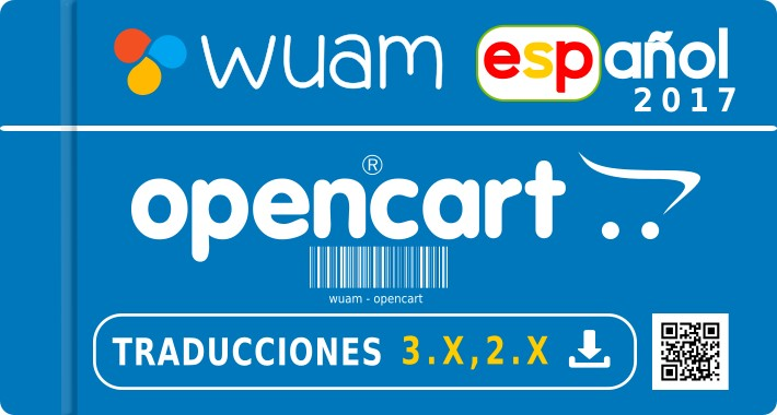✔ Spanish opencart  3.0.X -  2.X - Español - All Version
