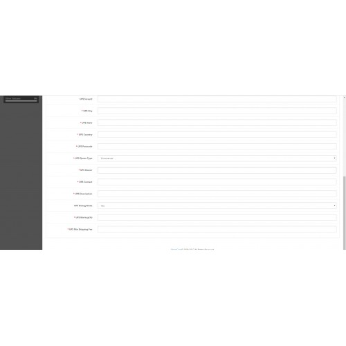 OpenCart - Print Shipping Label (UPS, USPS)