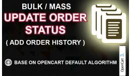 Bulk Update Order Status OC3