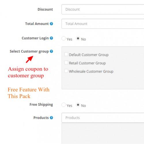 opencart bulk coupon generator import automatic csv sheet