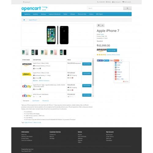 OpenCart - InterStore Price Comparison Engine