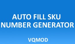 Auto Fill SKU Number Generator