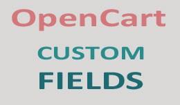 Opencart Custom Fields