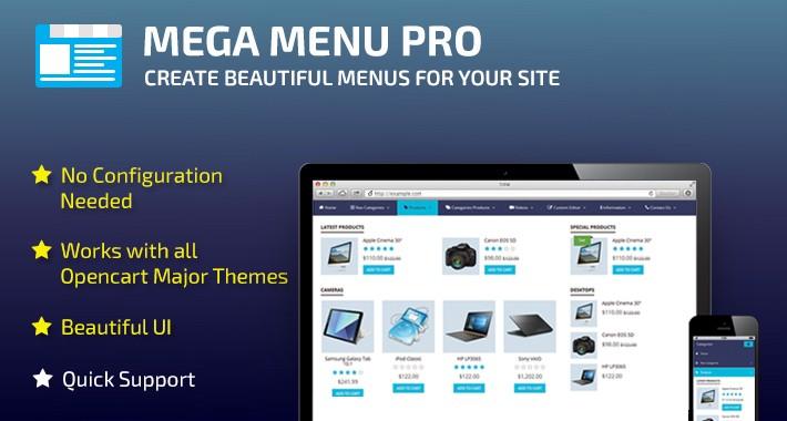 Mega Menu Pro