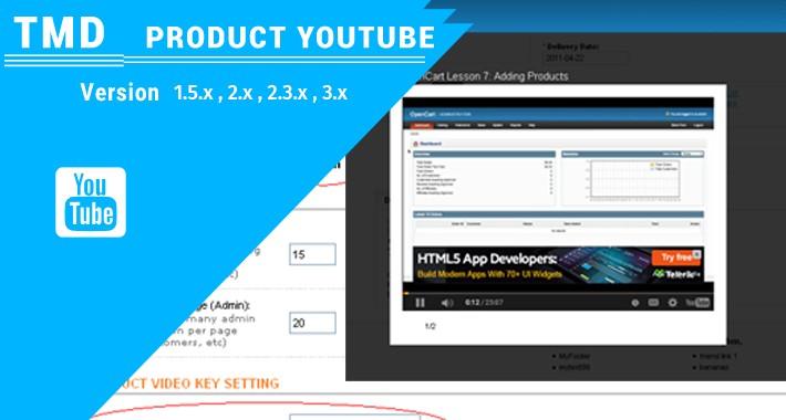 Youtube Gallery Module(1.5.x , 2.x & 3.x)