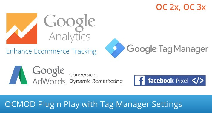 Google Analytics Enhance Ecommerce, Adwords Tag Manager