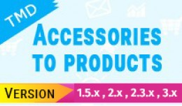 Accessories to products(1.5.x , 2.x and 3.x)