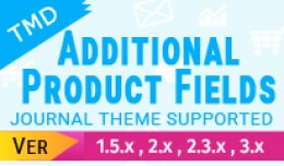 Tmd Additional Product Info Fields(1.5.x , 2.x a..