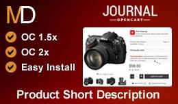 Product Short Description - Journal 2 Theme