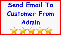 Send Email To Customer From Admin