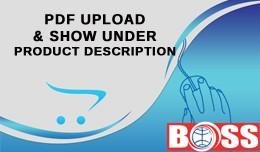 PDF file upload to each product page for OpenCar..