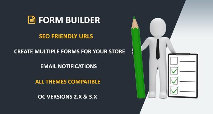 OpenCart - Form Builder - Multi Form Creator ( 2x & 3x )