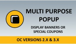 Multi Purpose Popup - Advertisement Popup