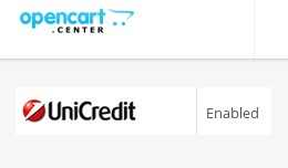 Payment Extension - UniCredit Bank Transfer