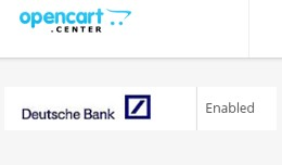 Payment Extension - Deutsche Bank Transfer