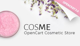 Cosmetics Store Responsive OpenCart Template 64712