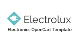 Electronics Store Responsive OpenCart Template  ..