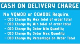 Cash on Delivery  Charge COD Fees Opencart Lite ..