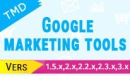 Google Marketing Tools (1.5.x , 2.x  & 3.x)