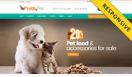 Pretty Pets Opencart Theme - OPCADD025
