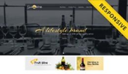 Gold Wine Opencart Theme - OPCADD024