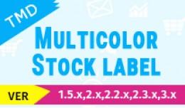 Multicolor Stock label(1.5.x , 2.x & 3.x)
